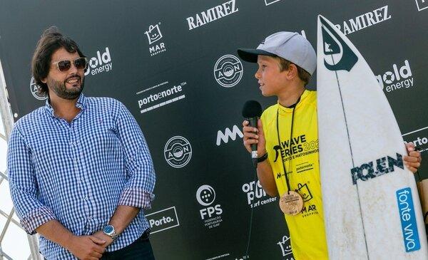 Promessas do surf nacional estiveram em Matosinhos