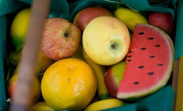 Fruta escolar chega a mais de sete mil